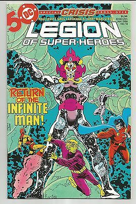 Legion Of Super-Heroes #18 (1986) - Special Crisis Cross-Over
