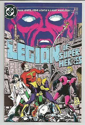 Legion Of Super-Heroes #8 (1985) - To Destroy A World