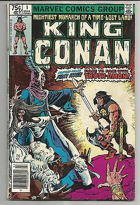 King Conan #1 (1980) - Face To Face With Thoth-Amon