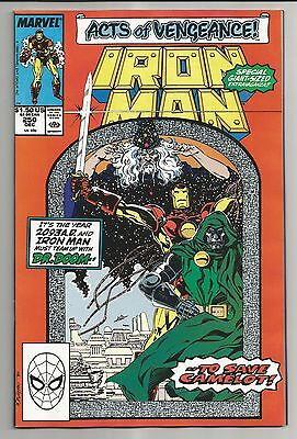 Iron Man #250 (1989) - Teamed Up With Dr. Doom