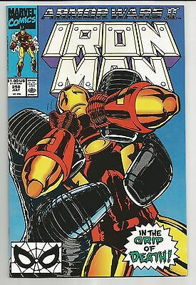 Iron Man #258 (1990) - Armor Wars Ii - In The Grip Of Death