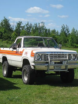 1978 Dodge Ramcharger Tophand 1978 Dodge Ramcharger