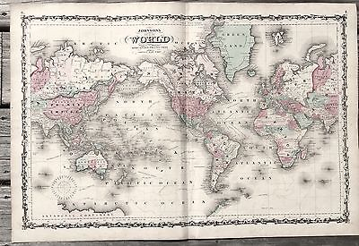 World Maps Maps Atlases Globes Antiques Page PicClick - 1800s world map