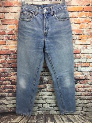 Juniors vintage Levi's 550 high waist relaxed fit tapered leg jeans size 3 USA