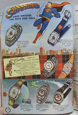 1955 Wholesale Catalog: Superman, Roy Rogers,  watches, toys, lighters+++