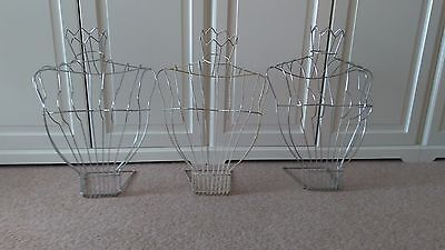 Wireframe display busts