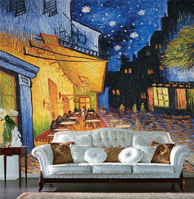 Old Street Painting Full Wall Mural Photo Wallpaper Printing 3D Decor Kids Home