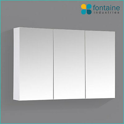 Bathroom Mirror Cabinet Shaving Medicine Storage 900 x 600 NEW 3 Doors