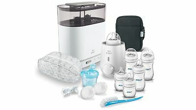 Avent Natural Bottle Solutions Set incl All Essentials for Baby Food Preparation