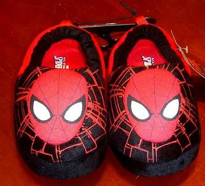 Marvel Comics Ultimate Spider-Man M 7/8 Slippers M (7/8) NWT House Shoes