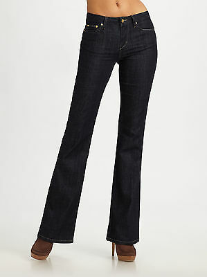 """Joe's Jeans """"muse"""" High-Rise Bootcut Jeans In Perry Wash Size 28 $167"""