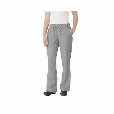 Chef Works Womens Check Chef Pants WBAW