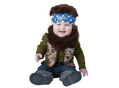 Duck dynasty Willie Costume Size 12-24 Months