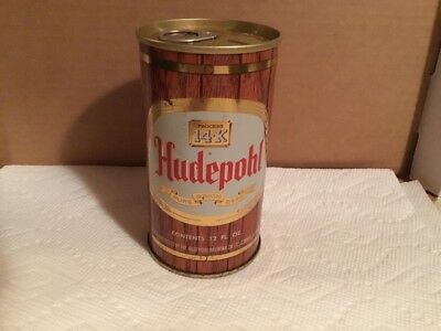 Hudepohl Pure Grain Beer Can, Hudepohl Brewing Co, Cincinnati, OH