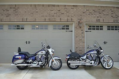2005 Victory  Matched pair Victory 50th Anniv. motorcycles - Touring Cruiser & Vegas