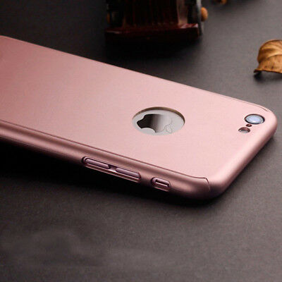 """Ultra-thin Shockproof Armor 360° Hard Back Case Cover for Apple iPhone 6 6s 4.7"""""""
