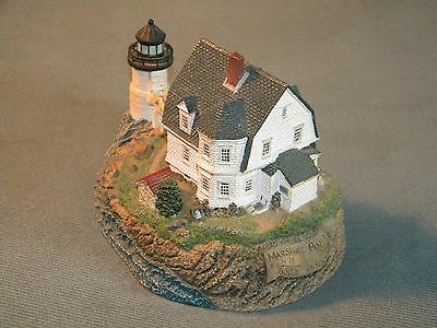 Harbour Lights Marshall Point Maine Lighthouse 258 Limited Edition 2001