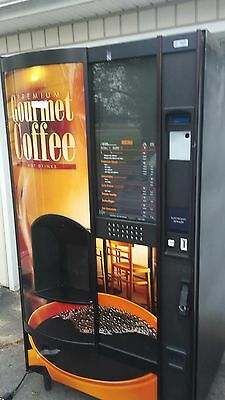 Two Top-of-the-line Attractive 2012 Crane/AP Coffee vending machines