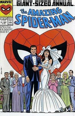 The Amazing Spider-Man Annual #21 (1987, Marvel) - Special Wedding Issue