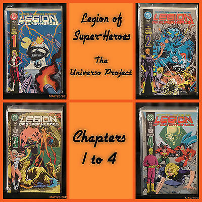 Legion of Super-Heroes the Universo Project Chapters 1-4