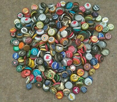Assorted Beer Brands Bottle Caps Over 650 Caps