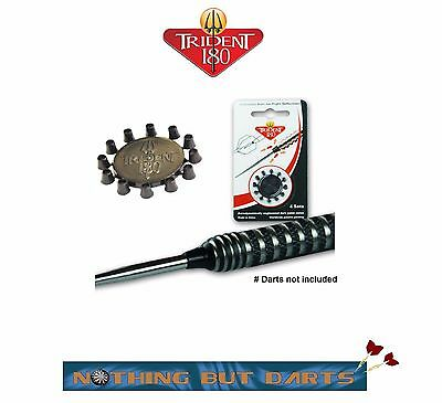 Trident 180 Dart Point Cones Black