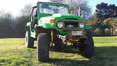 1973 Toyota Land Cruiser  FJ40 Landcruiser 350 Chev 5 speed Manual
