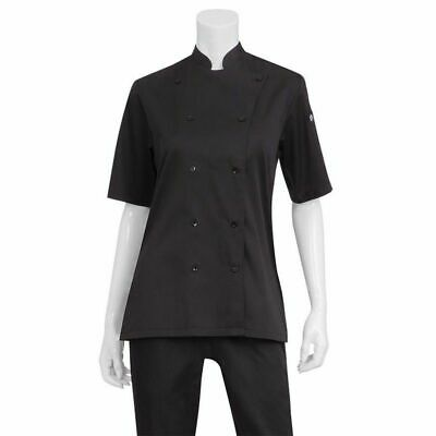 Chef Works Womens Black Chef Shirt - KL150-BLK