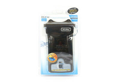 Dicapac WP-C1S Waterproof Handphone Case 5.1 Inch (Iphone6, Galaxy S) Black