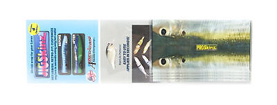 Jigskinz JZRLTF-PL4 PRL Threadfin 90 x 100mm x 4 pieces Pro-Large (1011)