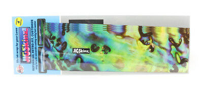 Jigskinz JZABY-XL4 Abalone Yellow 230 x 130mm x 4 pieces X-Large (3336)