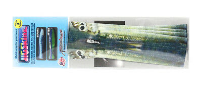 Jigskinz JZRLBBH-S4 RL BlueBack Herring 140 x 70mm x 4 pieces Small (7608)