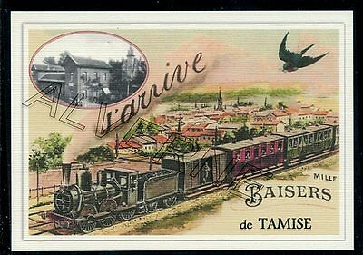 TAMISE  - TRAIN  souvenir creation moderne - serie limitee numerotee