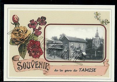 TAMISE  - gare souvenir creation moderne - serie limitee numerotee