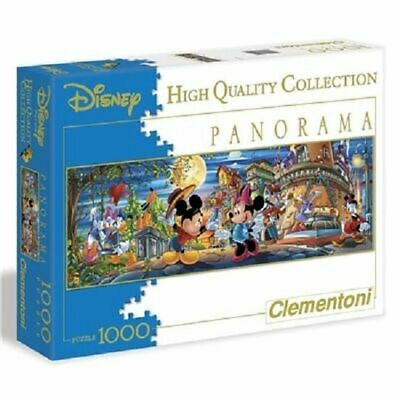 Disney Mickey Mouse 39003 Panorama Puzzle 1000 Teile Clementoni High Quality