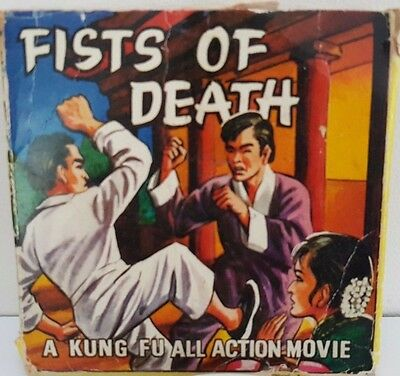 Super 8mm Film - Fists of Death - A Kung Fu All Action Movie