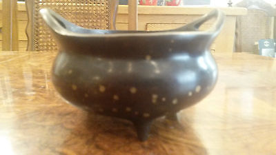 Chinese Gold Splashed Bronze Censer