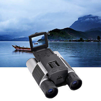 12x32 HD Digital Binoculars Telescope Folding with Built-in Digital Camera DV