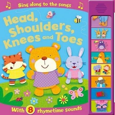 The New Sound Books Baby/kids- The Head shoulders Knees and toes