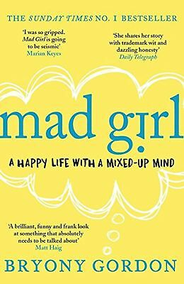 Mad Girl Paperback Book New Bryony Gordon