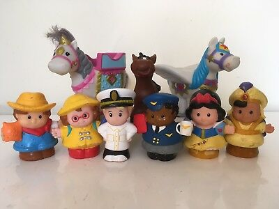 Fisher Price Little People Figure Toys Children's Safe Washable Toddler