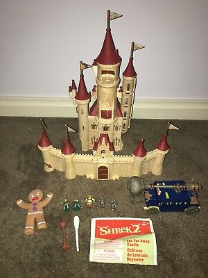 Vintage 2006 Hasbro Shrek 2 Ogre Micro Playset Far Far Away Castle