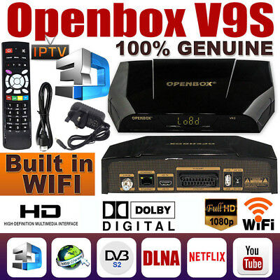 GENUINE OPENBOX V9S HD Freesat Smart TV Satellite Receiver Box New AND Boxed