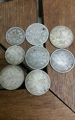 Germany silver 1800s coins