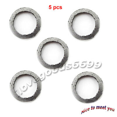 5pcs GY6 Scooter Exhaust Muffler 22mm Gasket 49 50 125cc 150cc Chinese Moped ATV