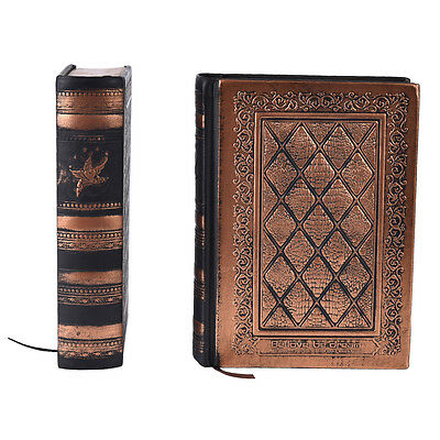 Retro Vintage Journal Diary Notebook Leather Blank Sketchbook Paper Hard Cover3C
