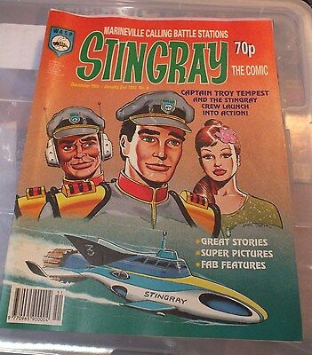Stingray The Comic No 6 December 19th - January 2nd 1993 GERRY ANDERSON - EXC.