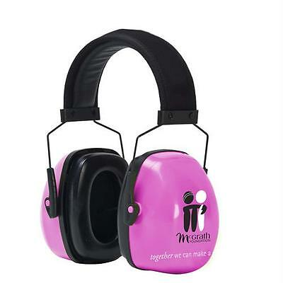 McGrath Foundation Pink Earmuffs Hearing Protection Safety Frontier