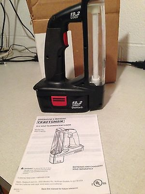 19.2 Volt Sears Light & Battery Model 315.114073 with Operator's Manual