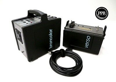 Broncolor Verso A2 RFS 1200ws Strobe Power Pack With Power Dock EXC READ